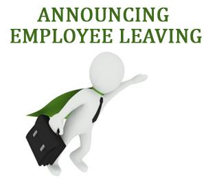 Resignation Announcement Email to Staff - Learn how to