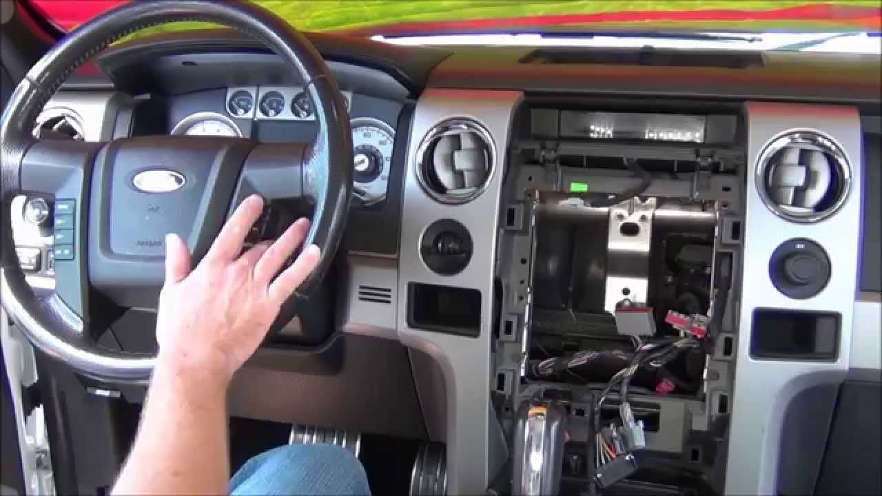 How To Remove The Dash From A Ford F 150 Learn How To